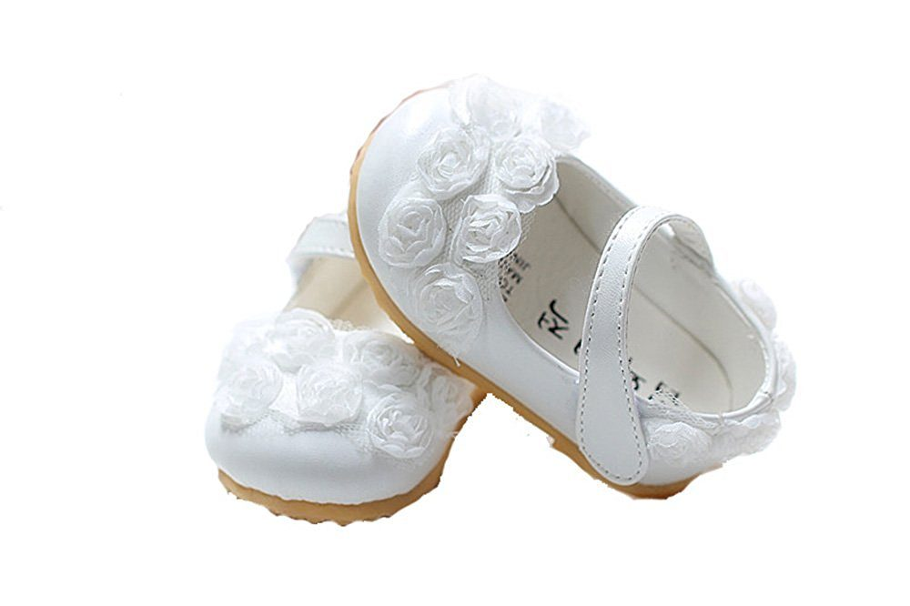 Cinda Baby Girls Flower Shoes