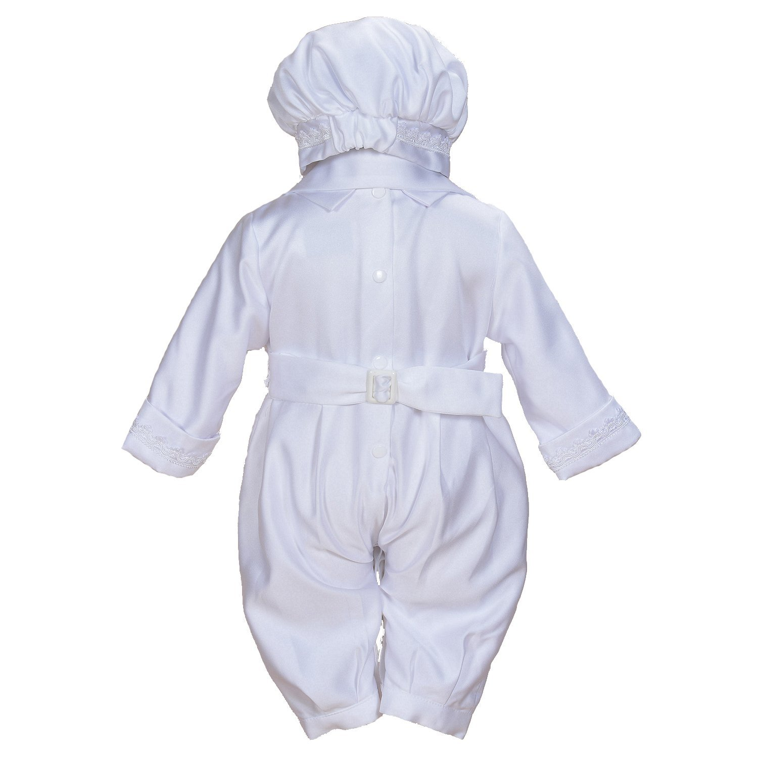 830542419 Cinda Boys Satin Christening 3 Piece Set with Hat and Scarf - cinda ...