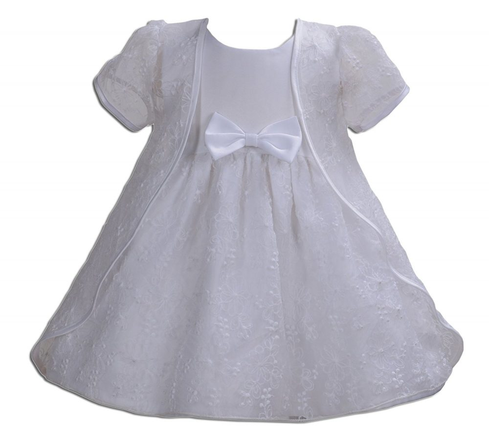 Cinda Baby Girls Wedding Party Christening Dress with Cape