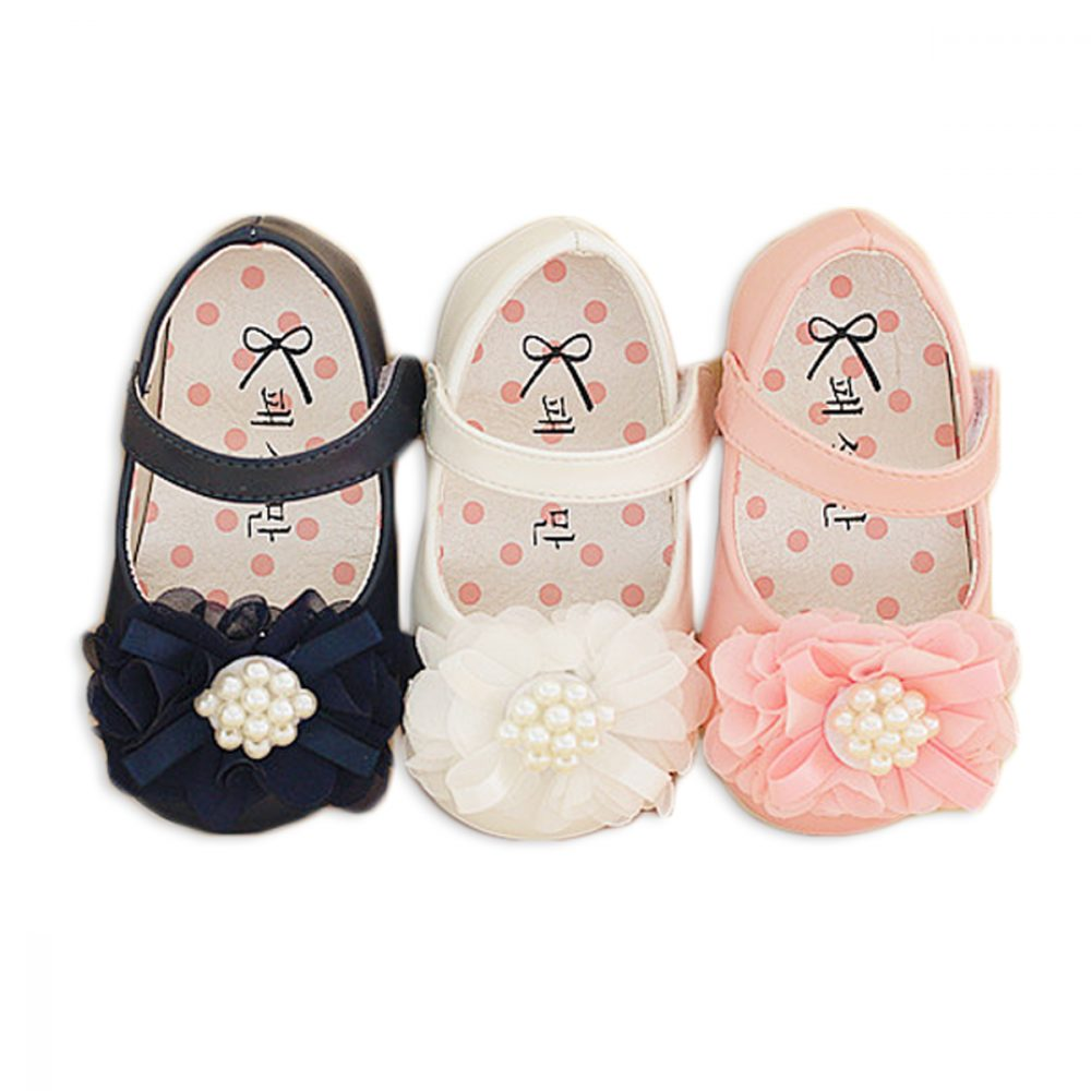 Baby Girls Christening Shoes 687