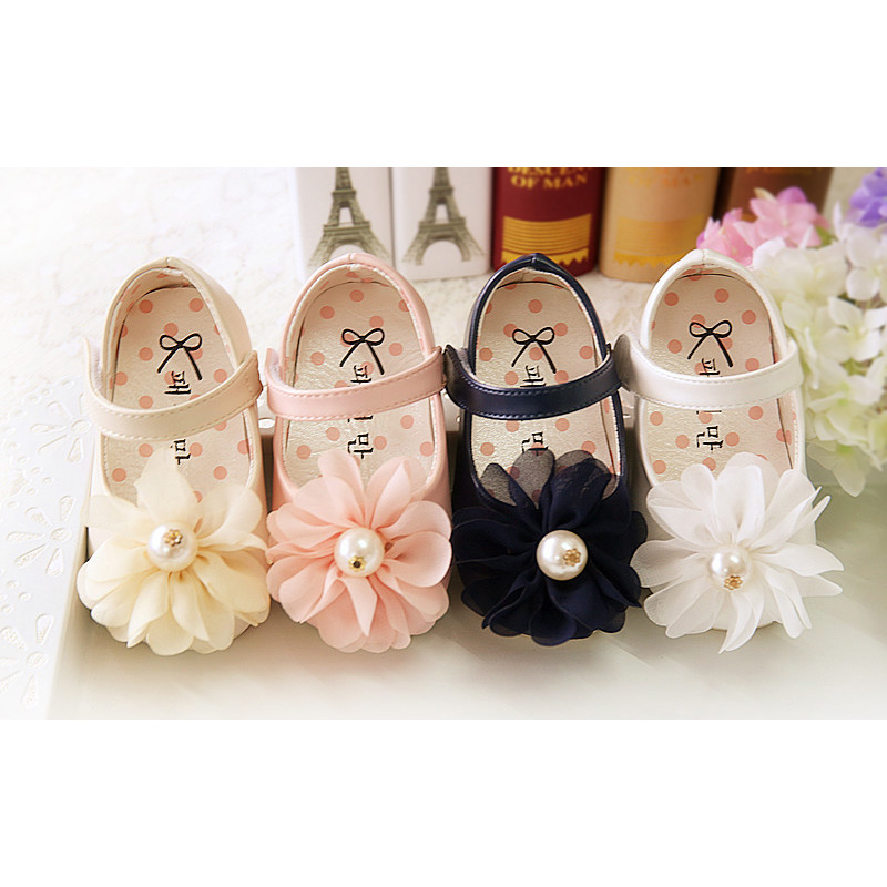 Baby Girls Christening Party Shoes 683