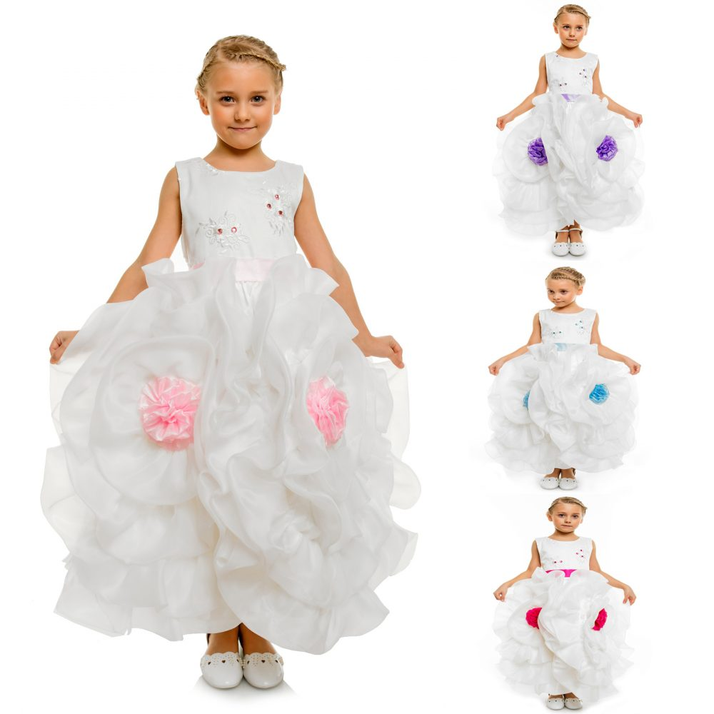Flower Girl Party Pageant Dress DF14
