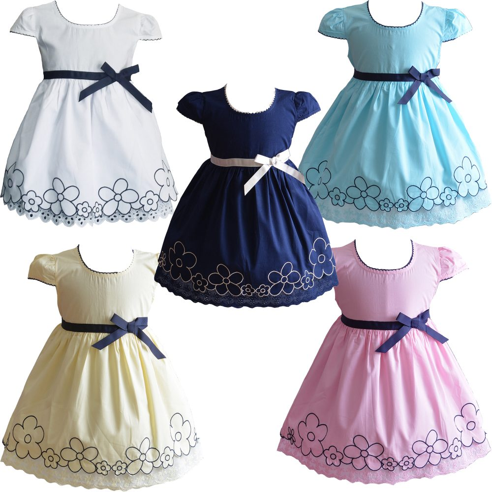 Baby Girls Summer Cotton Dress XL9006
