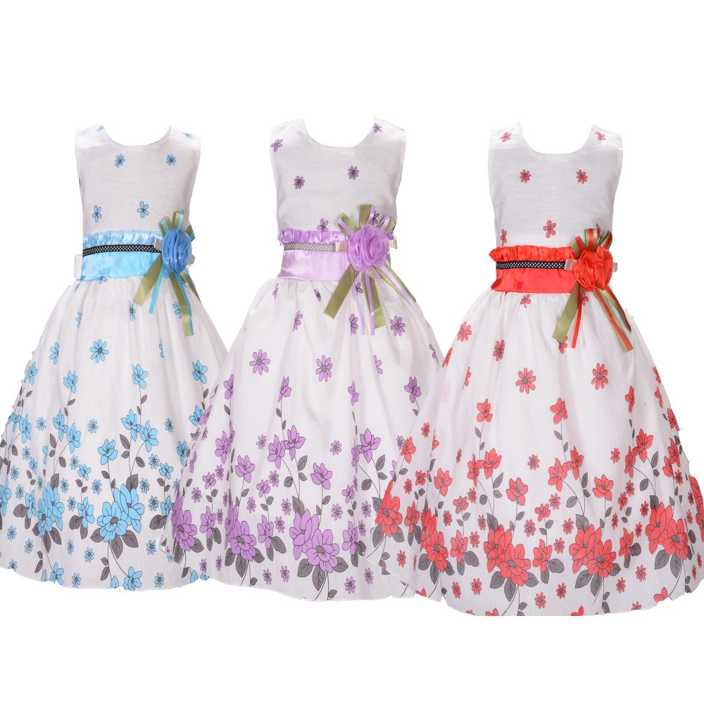 Flower Party Dress Summer Dress F1131