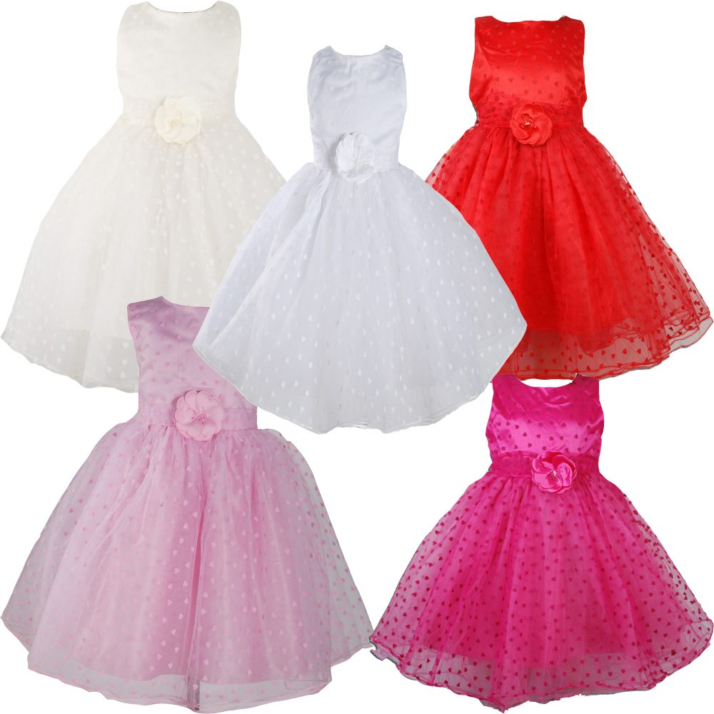 Girls Party dress flower girl dress KLX99