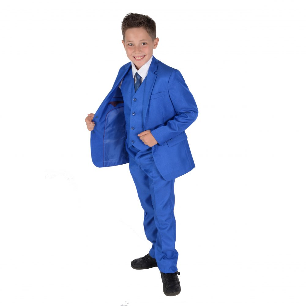 5 Piece Boys Wedding Suit Page Boy Party Prom Suits